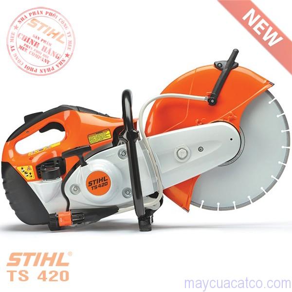 may-cat-be-tong-cam-tay-dung-xang-stihl-ts420-luoi-350mm-cua-duc